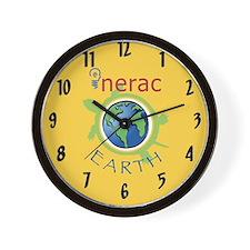 Nerac Earth Wall Clock