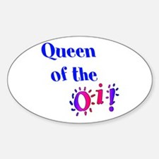 Queen of the Oi! Decal