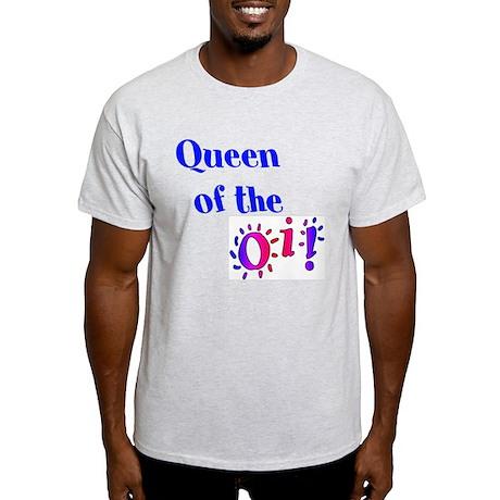 Queen of the Oi! Light T-Shirt