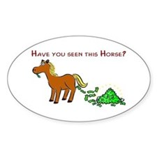 Have you seen this Horse? Decal
