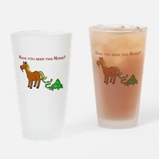 Have you seen this Horse? Pint Glass