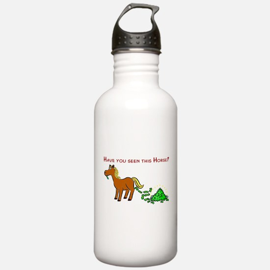 Have you seen this Horse? Water Bottle