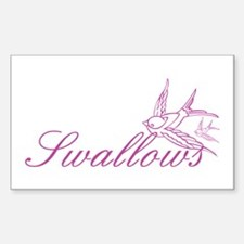 Swallows Decal