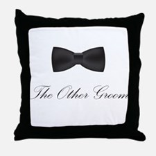 The Other Groom Throw Pillow