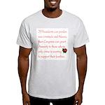 Amnesty Ash Grey T-Shirt