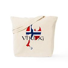Norway Viking Tote Bag