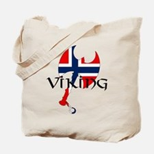 Norway Viking Tote Bag