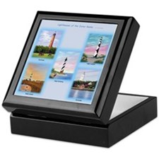 Lighthouses Of The Outer Banks Keepsake Box
