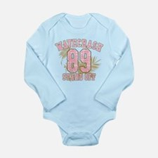 wavecrash stand off Long Sleeve Infant Bodysuit
