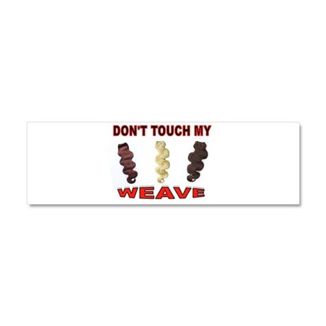 HANDS OFF THE HAIR Car Magnet 10 x 3