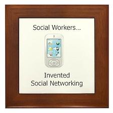 Unique Social work month Framed Tile