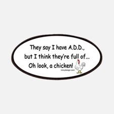 ADD full of Chicken Humor Patches