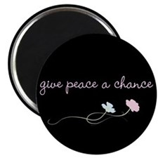Peace Blossoms Magnet