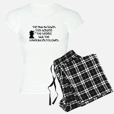 The Man in Black... Pajamas