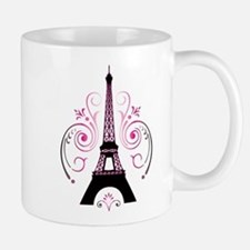 Eiffel Tower Gradient Swirl Mug