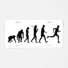Evolution of Running Aluminum License Plate