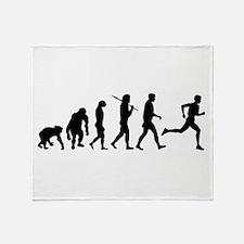 Evolution of Running Throw Blanket