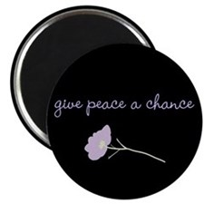 Peace Blossoms Magnet