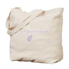 Peace Blossoms Tote Bag