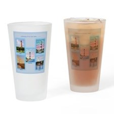 Lighthouses of the Outer Banks Drinking Glass