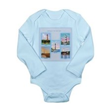Lighthouses of the Outer Banks Long Sleeve Infant