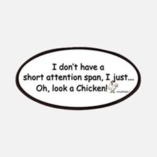 Short Attention Span Chicken Patches
