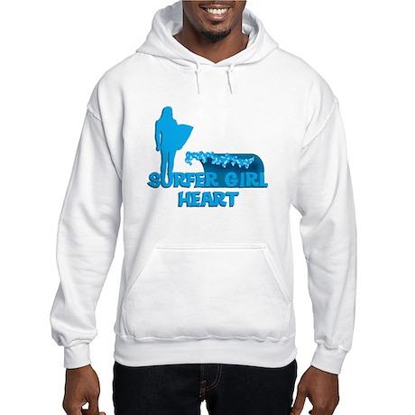 Surfer Girl Hooded Sweatshirt