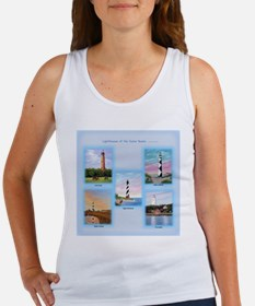 Lighthouses of the Outer Banks Women's Tank Top
