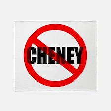 No Cheney Throw Blanket
