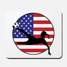 US Women's Soccer Mousepad