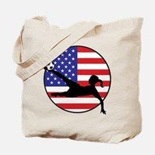 US Women's Soccer Tote Bag