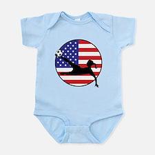 US Women's Soccer Infant Bodysuit