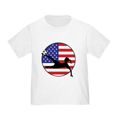 US Women's Soccer Toddler T-Shirt