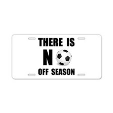 Cute Athletes and sports fans Aluminum License Plate