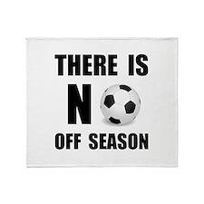 Cute World soccer Throw Blanket