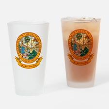 Florida Seal Pint Glass