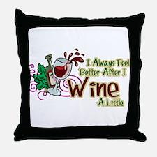 etter After Wine Throw Pillow
