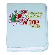etter After Wine baby blanket
