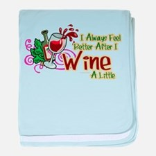 etter After Wine baby blanket