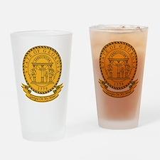 Georgia Seal Drinking Glass