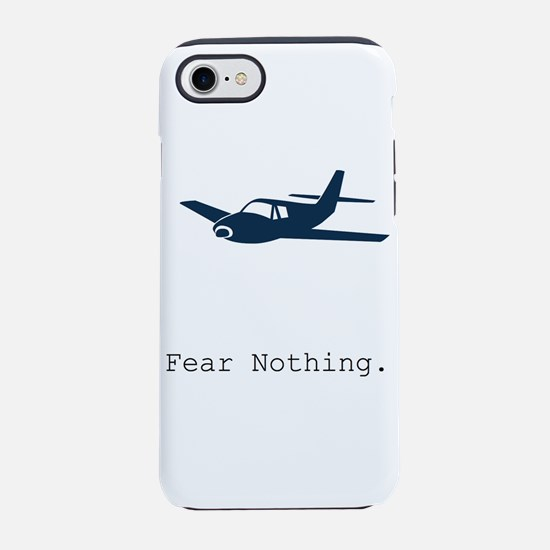 Fear Nothing. Plane iPhone 7 Tough Case