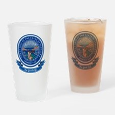 Nebraska Seal Drinking Glass