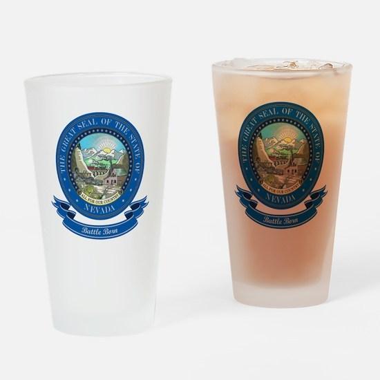 Nevada Seal Drinking Glass