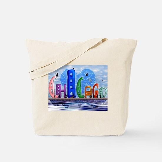 I Heart Chicago Tote Bag