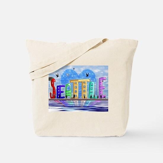 I Heart Seattle Tote Bag