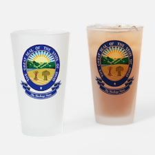 Ohio Seal Drinking Glass