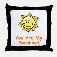 Unique Sunshine Throw Pillow