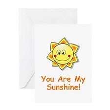 Cute Shine Greeting Card