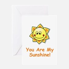 Cute You are my sunshine Greeting Card