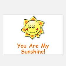 Unique Sunshine Postcards (Package of 8)